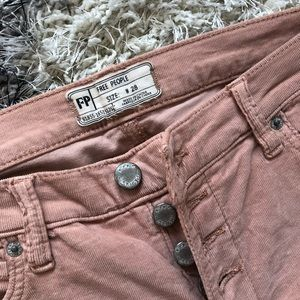 Free People Pants - NWOT Free People Crop Corduroys